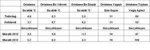 ortalamalar ocak 2013