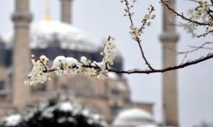 16 mart 2013 edirne kar
